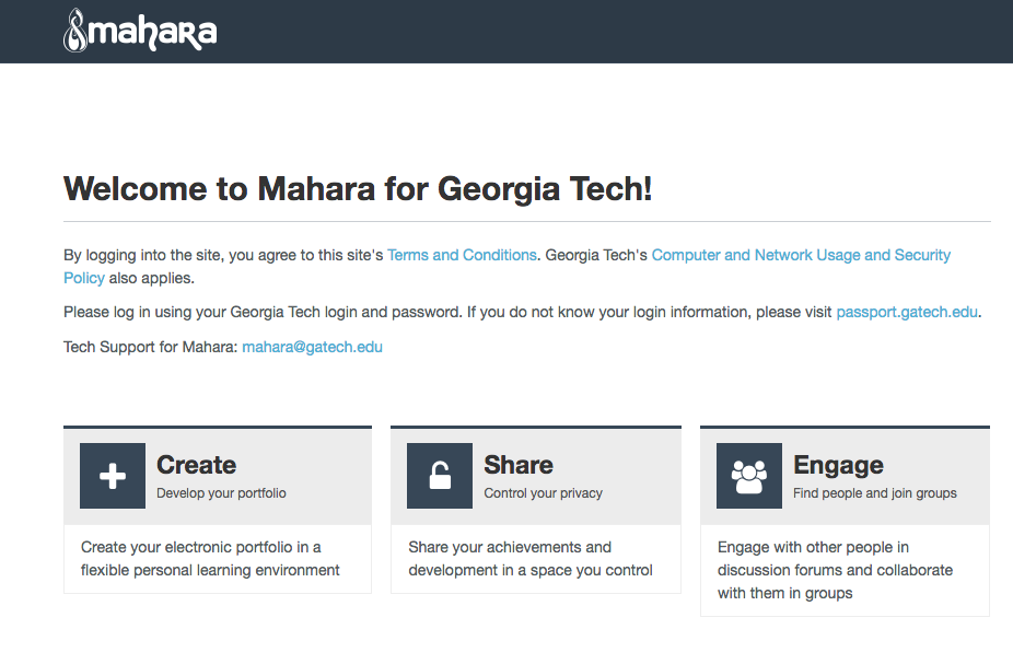 Mahara at GATech